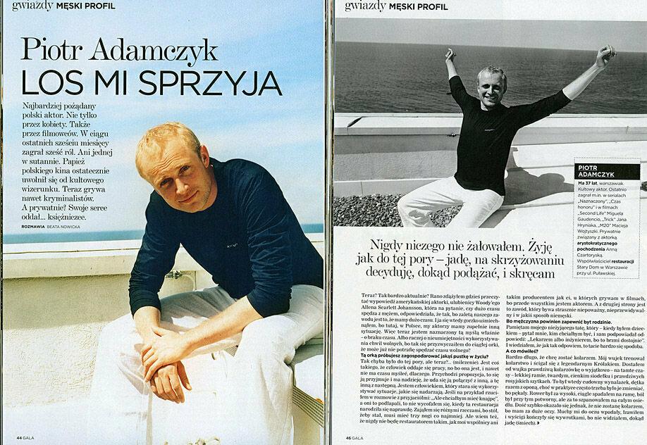Piotr Adamczyk by whitesmokestudio