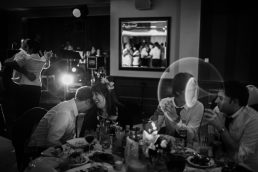 Leica monochrome wedding