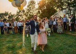 Slub w starej oranzerii